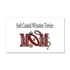 Soft Coated Wheaten Terrier Car Magnet 20 x 12