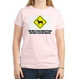 Italian Spinone Women's Pink T-Shirt