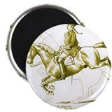 Dressage Art Cafe Magnet