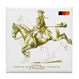 Dressage Art Cafe Tile Coaster