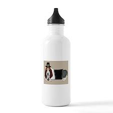 Basset Hound Thanksgiving Pilgrim Water Bottle