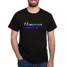 Amaya, Rainbow, T-Shirt