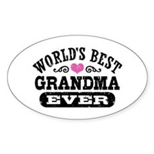 World's Best Grandma Ever Decal