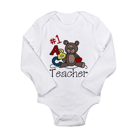 Teacher Long Sleeve Infant Bodysuit