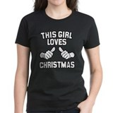 This Girl Loves Christmas Tee