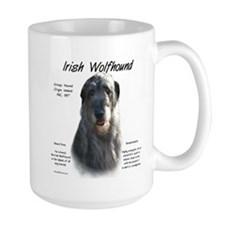 Grey Irish Wolfhound Mug