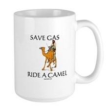 Save Gas Ride Camel Mug