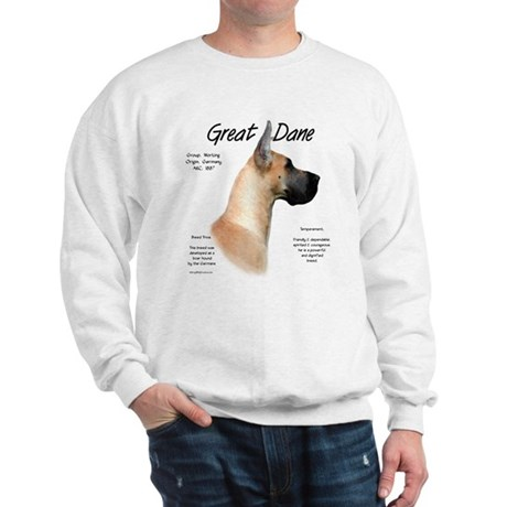 Fawn Great Dane Sweatshirt