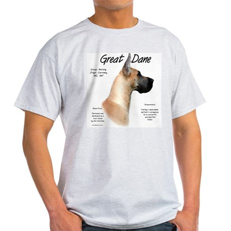 Fawn Great Dane Light T-Shirt