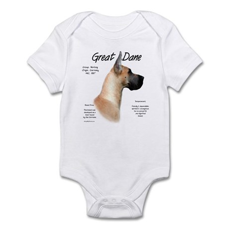 Fawn Great Dane Infant Bodysuit