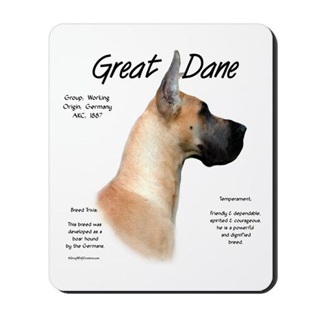 Fawn Great Dane Mousepad 