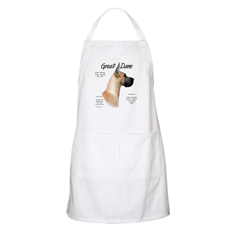 Fawn Great Dane BBQ Apron