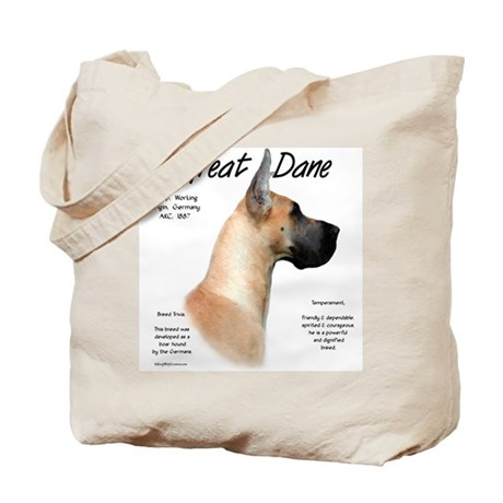 Fawn Great Dane Tote Bag