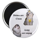 Cute Clean dishes Magnet
