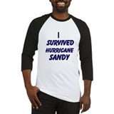 I Survived Hurrican Sandy Baseball Jersey