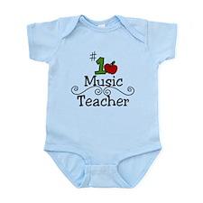 Music Teacher Infant Bodysuit