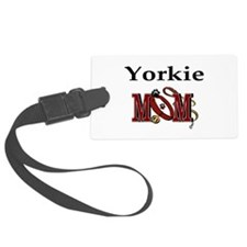 Yorkie Mom Luggage Tag