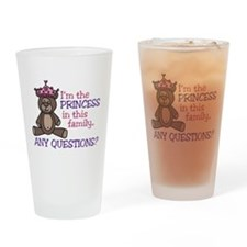 Im The Princess Drinking Glass