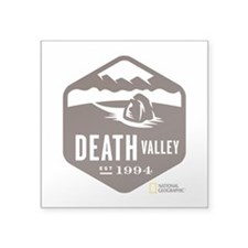"Death Valley Square Sticker 3"" x 3"""