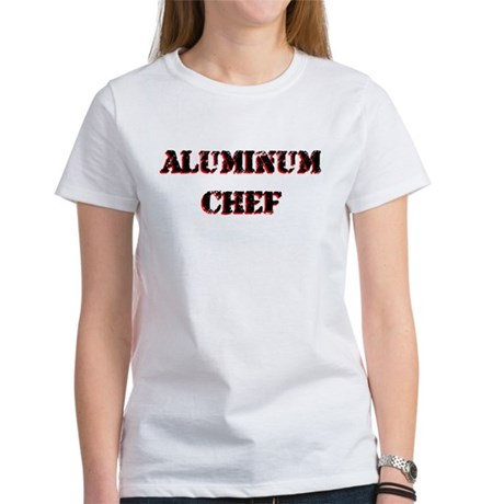 Aluminum Chef Iron Parody TV Women's T-Shirt