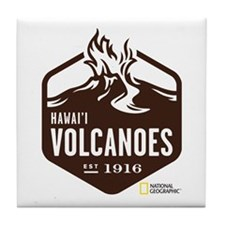 Hawai'i Volcanoes Tile Coaster