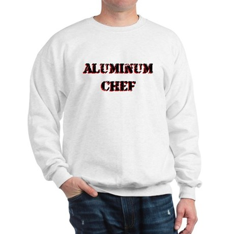 Aluminum Chef Iron Parody TV Sweatshirt