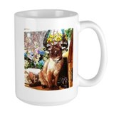 Tonkinese under Tiffany Lamp Mug