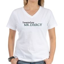 Jane Austen I married my Mr. Darcy T-Shirt T-Shirt