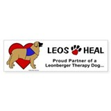 Therapy Leonberger Bumper Bumper Stickers