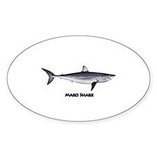 Shortfin Mako Shark Decal