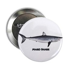 "Shortfin Mako Shark 2.25"" Button"