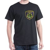 Multnomah Sheriff Black T-Shirt