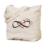 Infinite Love Tote Bag