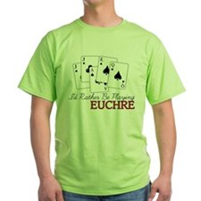 Euchre Playing T-Shirt