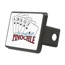 Pinochle Cards Hitch Cover
