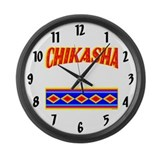 CHIKASHA Large Wall Clock