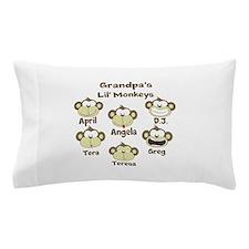 Grand kids monkeys Pillow Case
