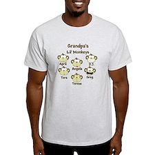 Grand kids monkeys T-Shirt