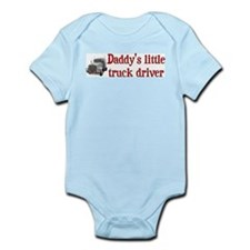 Little Truck Driver Infant Bodysuit