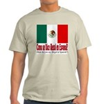 Illegal Immigration Ash Grey T-Shirt