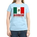 Illegal Immigration Women's Pink T-Shirt