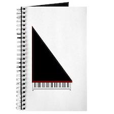 Piano #3 - Black - Journal