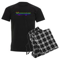 Flannagan, Rainbow, pajamas