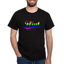 Flint, Rainbow, T-Shirt