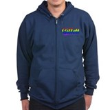 Gillett, Rainbow, Zip Hoody