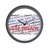 CUte POiSOn Wall Clock