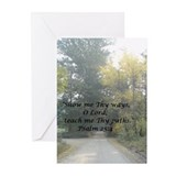 Show Me Thy Ways Greeting Cards (Pk of 10)
