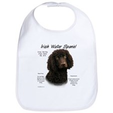 Irish Water Spaniel Bib