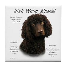 Irish Water Spaniel Tile Coaster