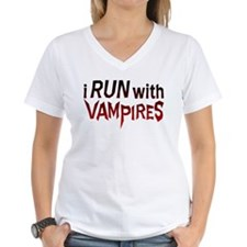 I Run With Vampires Shirt